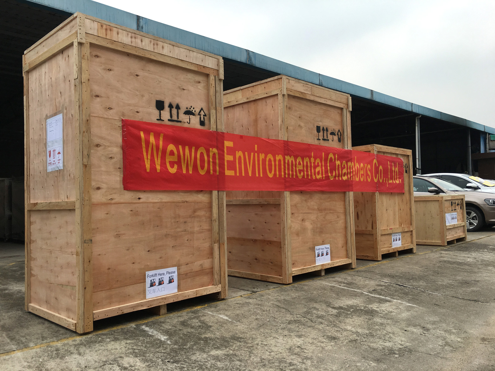 xenon weather ometer shipment