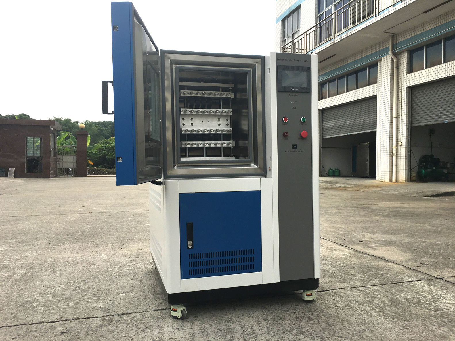 High Temperature Rubber Tensile Fatigue Tester