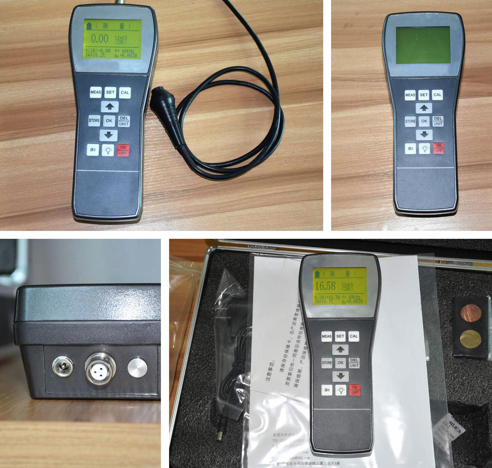 Eddy Conductivity Meter
