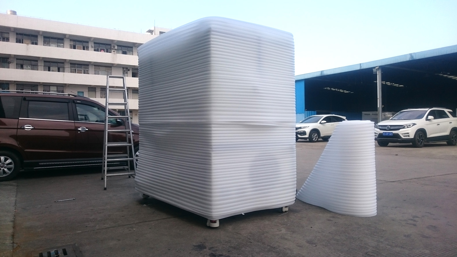 voc test chamber packing solution