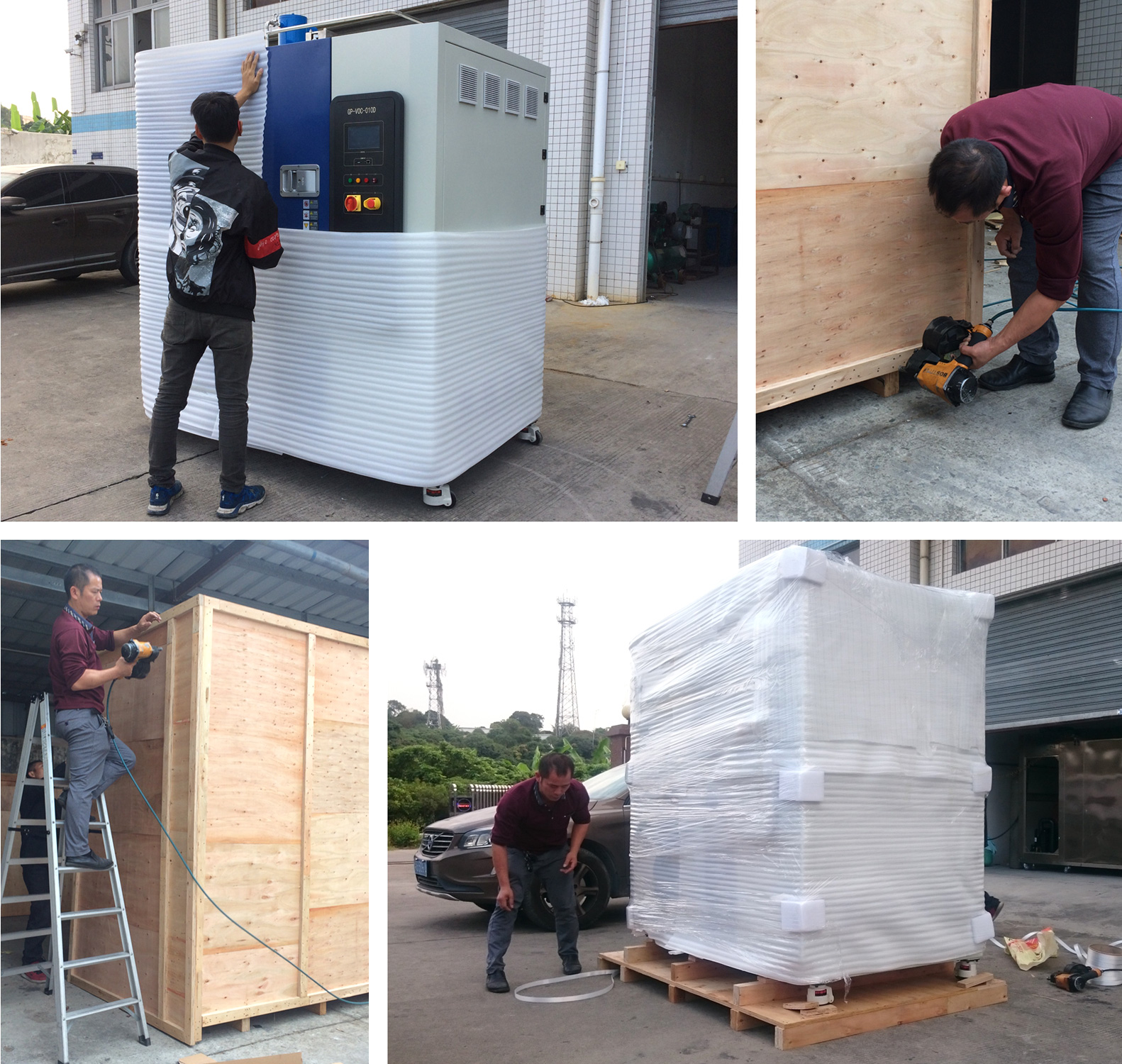 VOC Test Chamber Packing Solution with High Definition Photographs