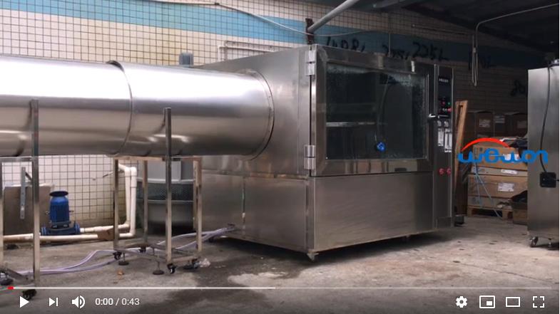 IP X5 X6 Rain Test Chamber