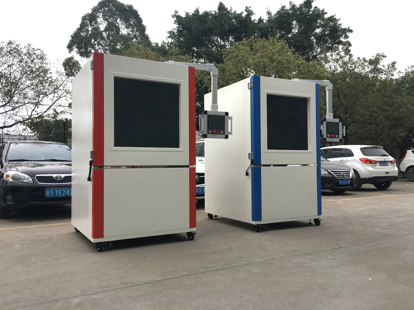 MIL STD 810G sand dust test chamber