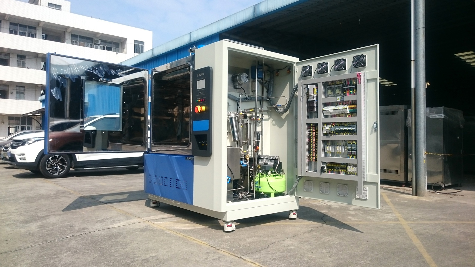 altitude test chamber refrigerating system