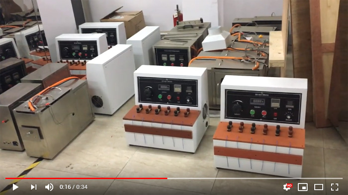 temperature rise test equipment video