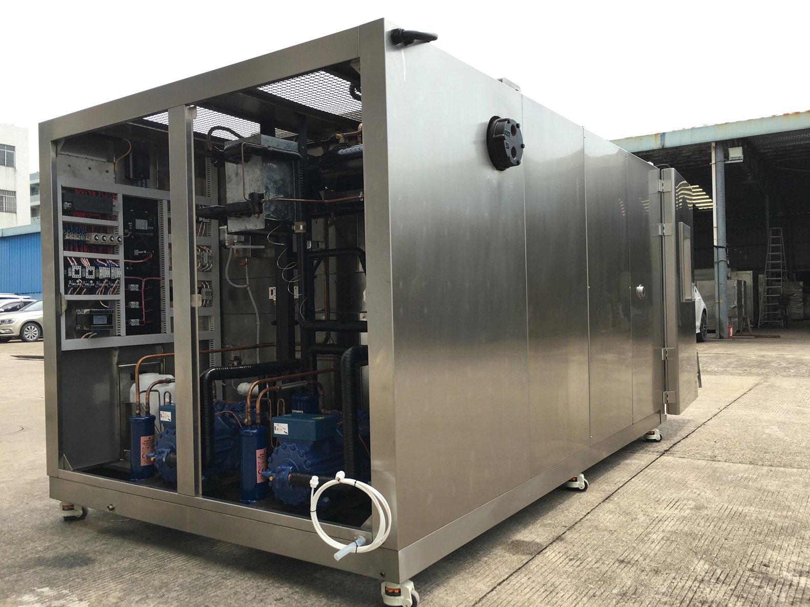 5000 Litres Water Cooled Test Chamber's Refrigerating System