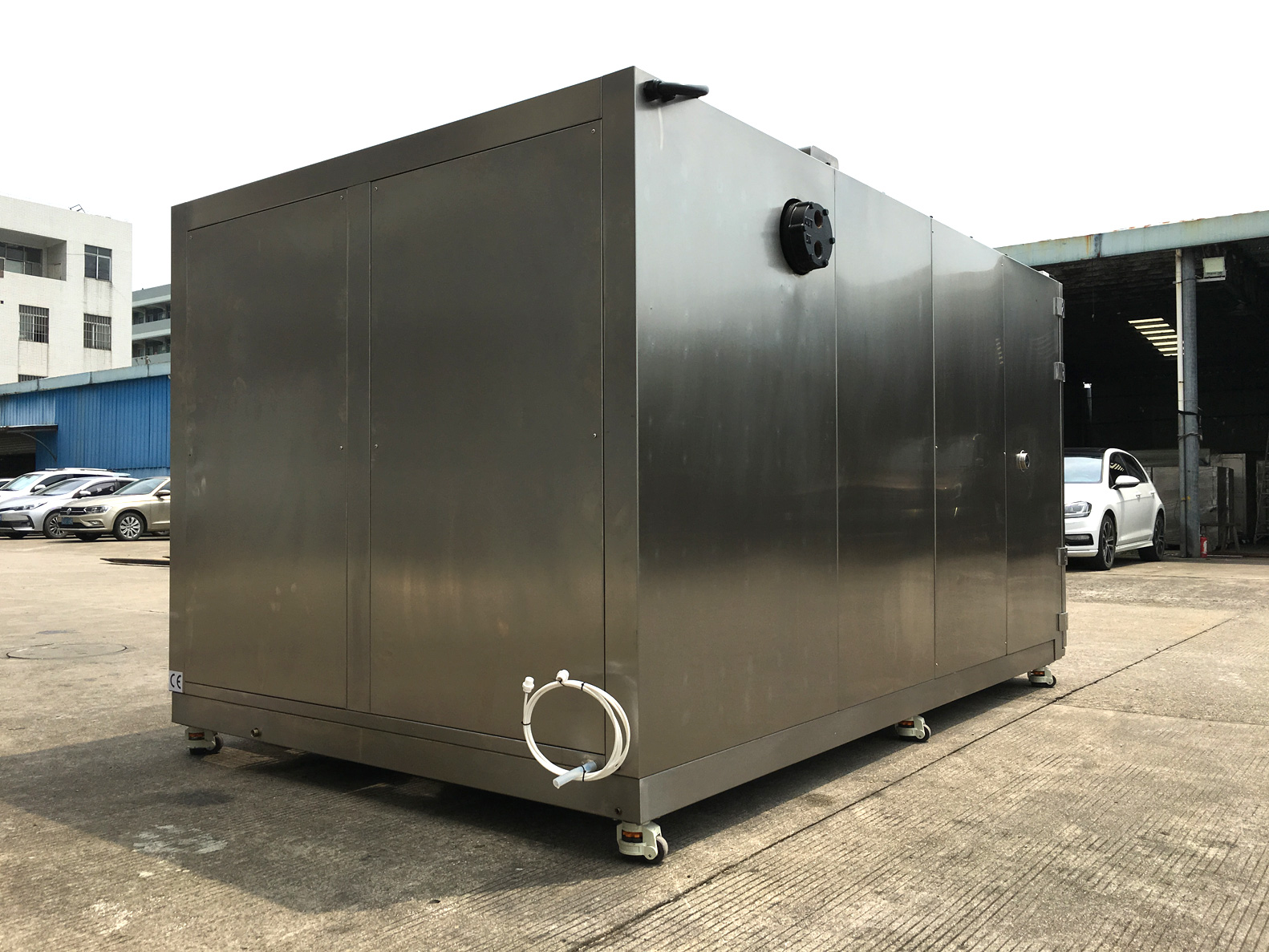 5000 Litres Water Cooled Test Chamber's Humidity System