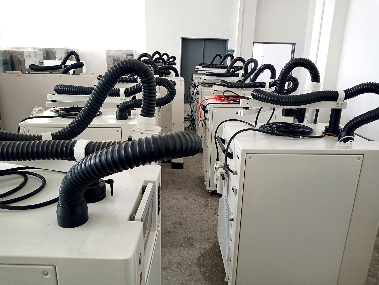 Parts of thermal cycling test equipment, Hot cold air duct