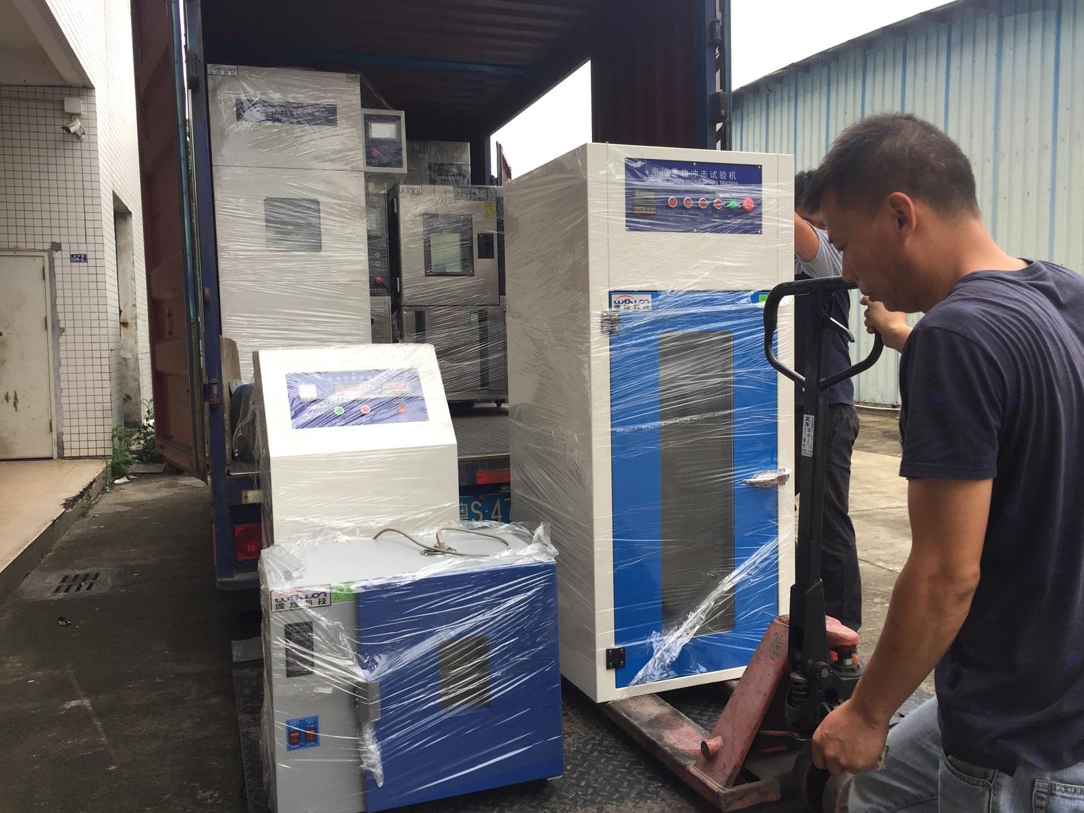 Gravity Impact Tester Shipment