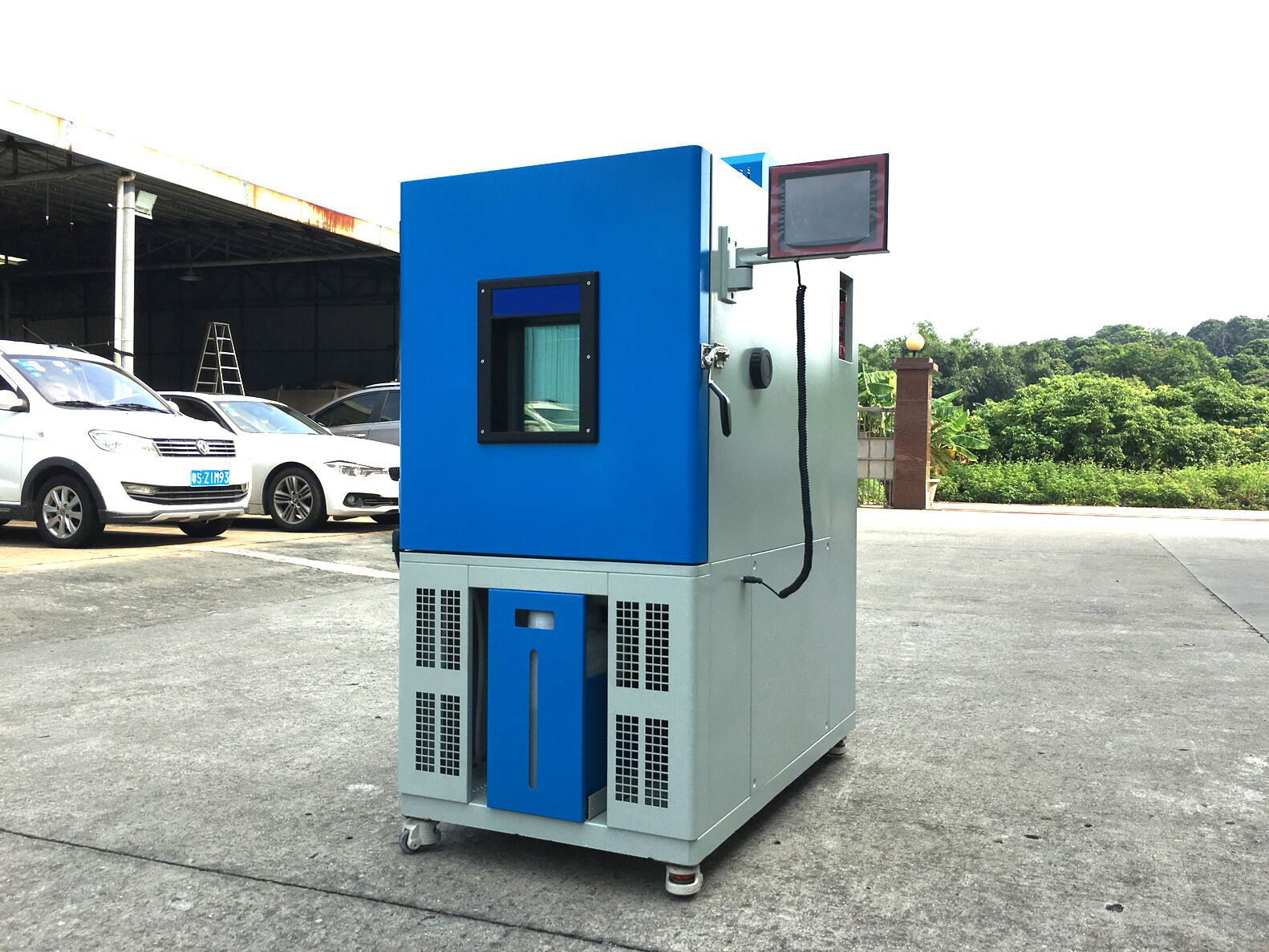 environmental chamber with OYO 3000 controller system with Ethernet interface