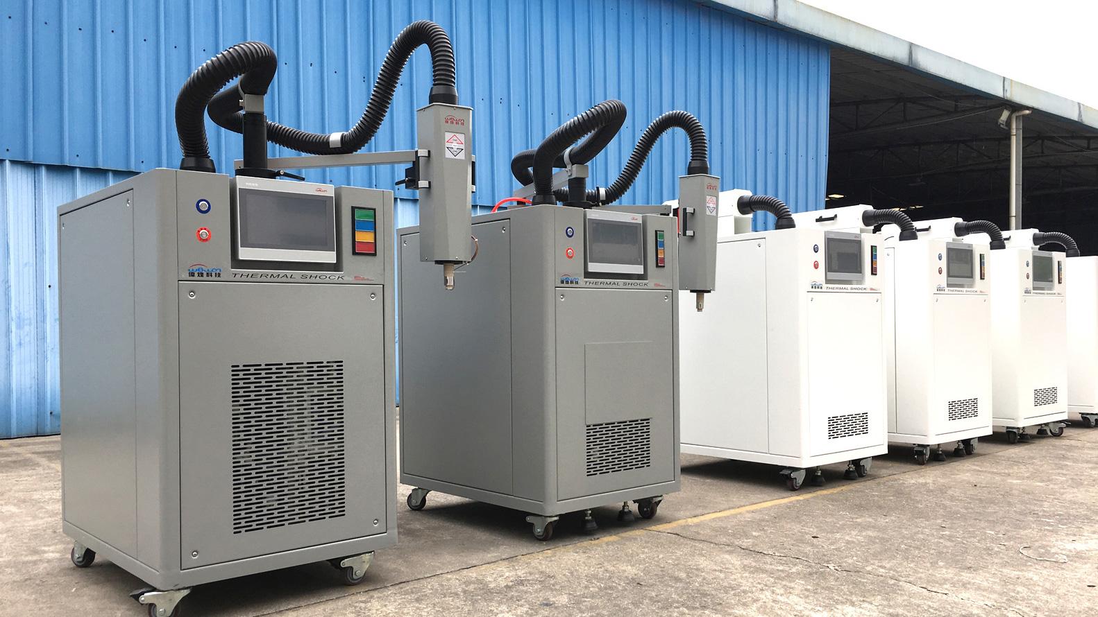 2 PCS Thermal Stream Equipment & 4 PCS Custom Design