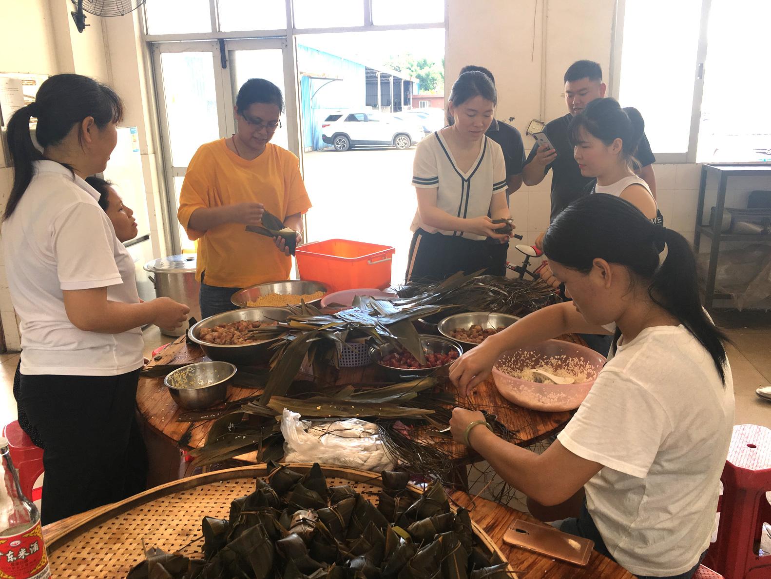 Celebrate Dragon Boat Festival in WewonTech Factory