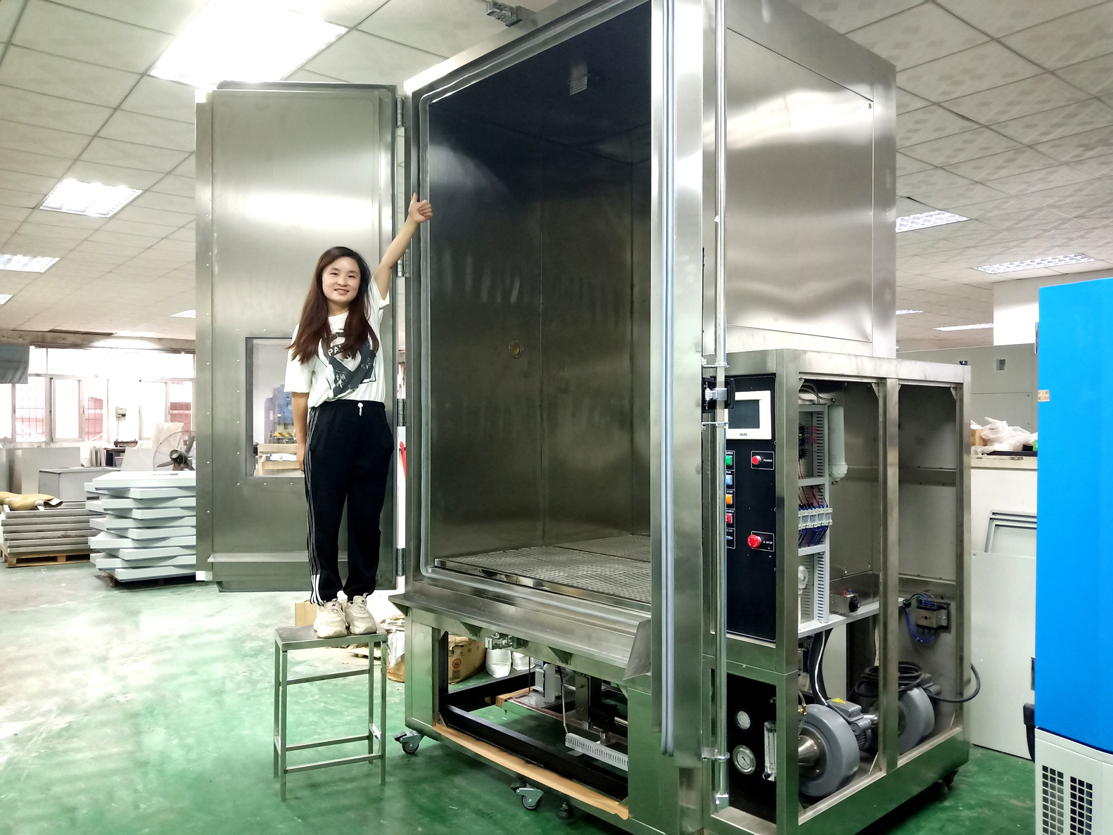 3380 liters dust test chamber