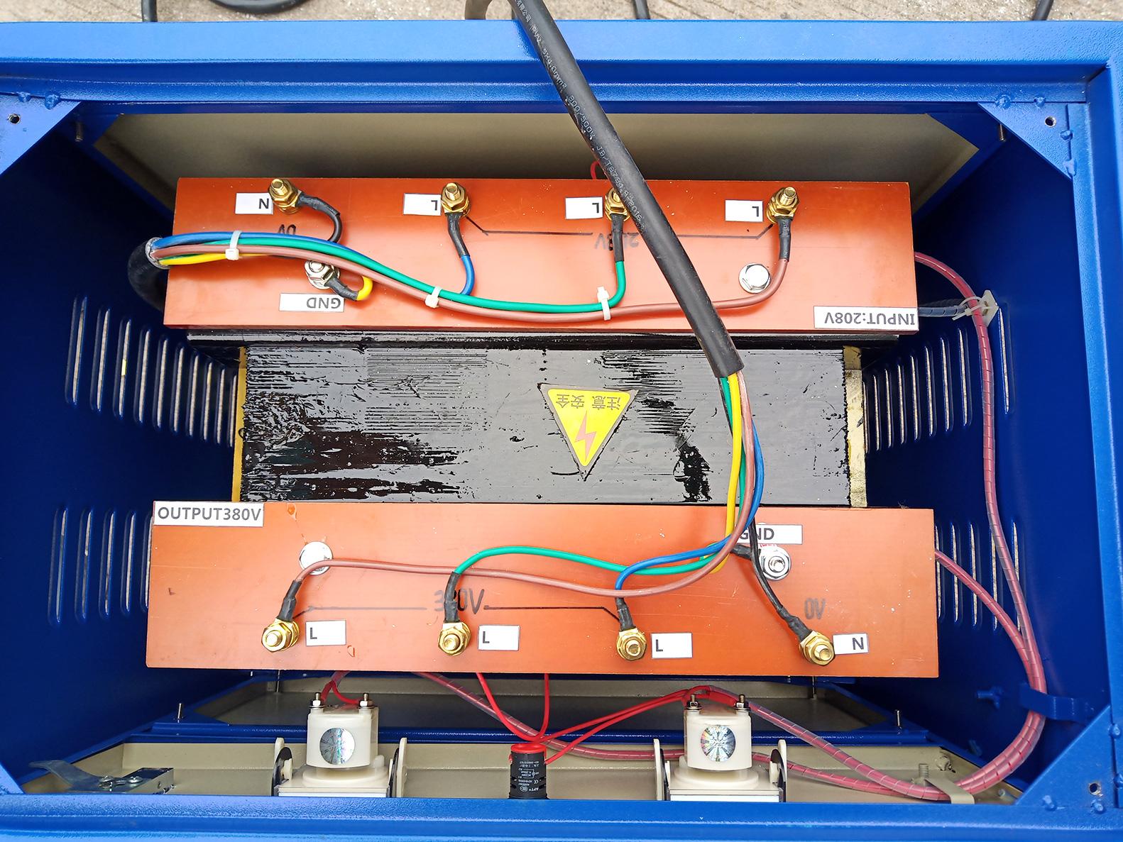 power transformer diagram