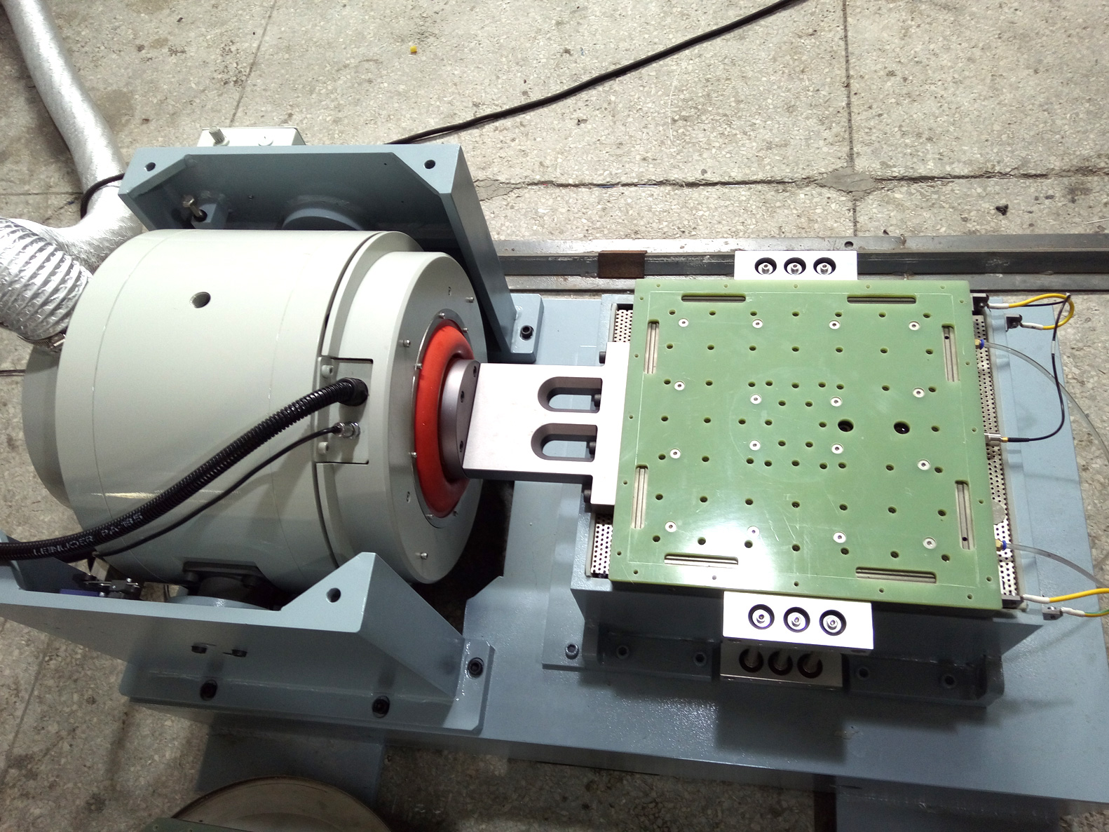 Shaker System for WEW-AG-002 Agree Chamber