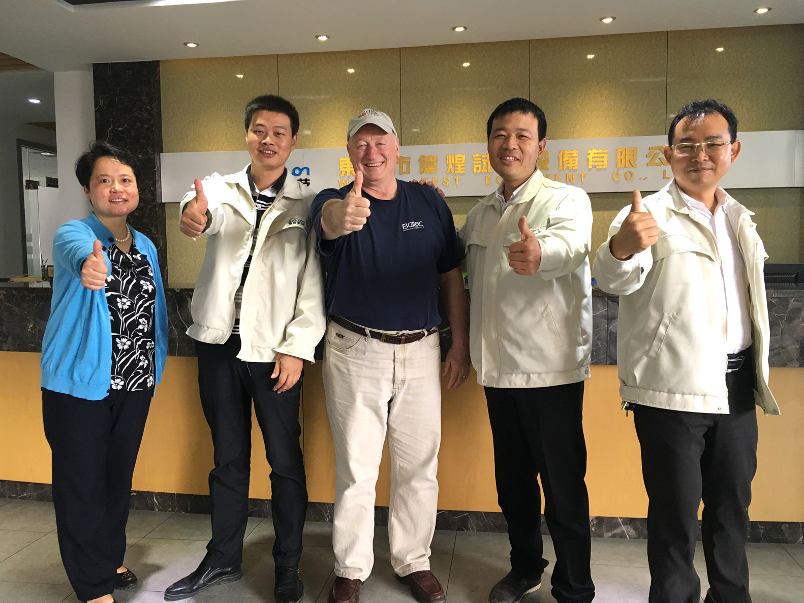 United States Customers Visit Wewon