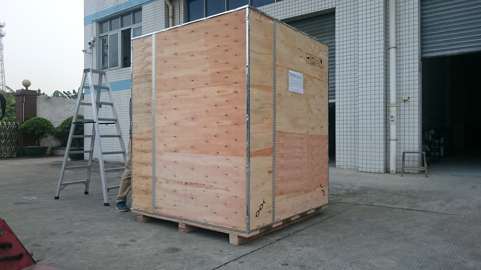 environmental test chambers shipment