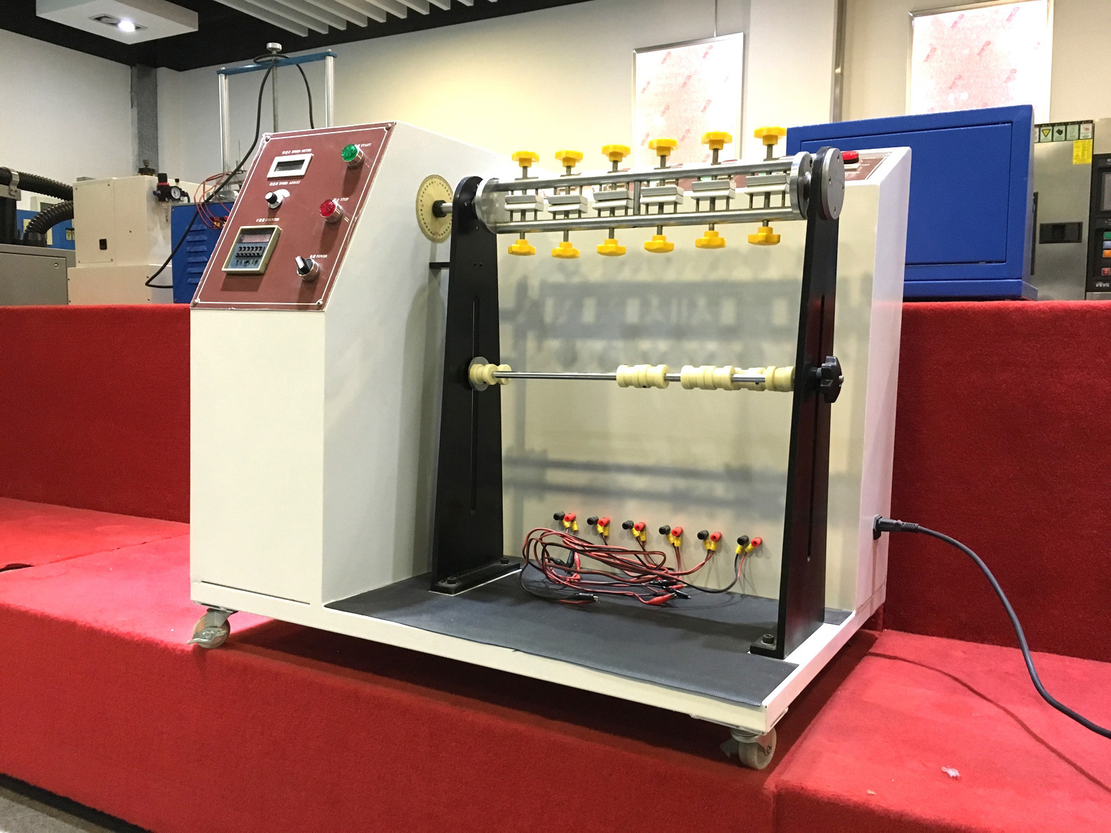 wire bend testing machine
