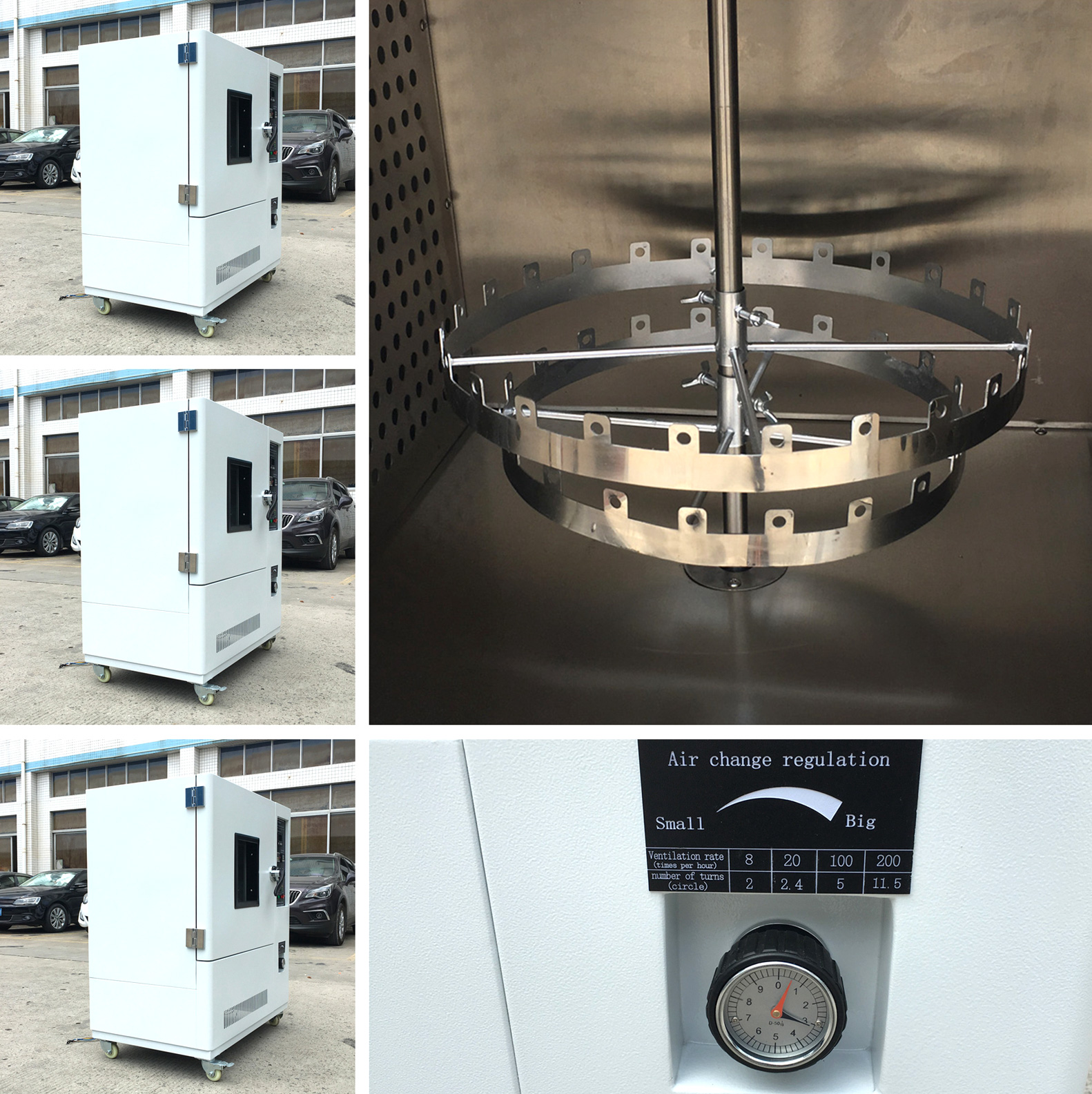 convection and ventilation aging oven