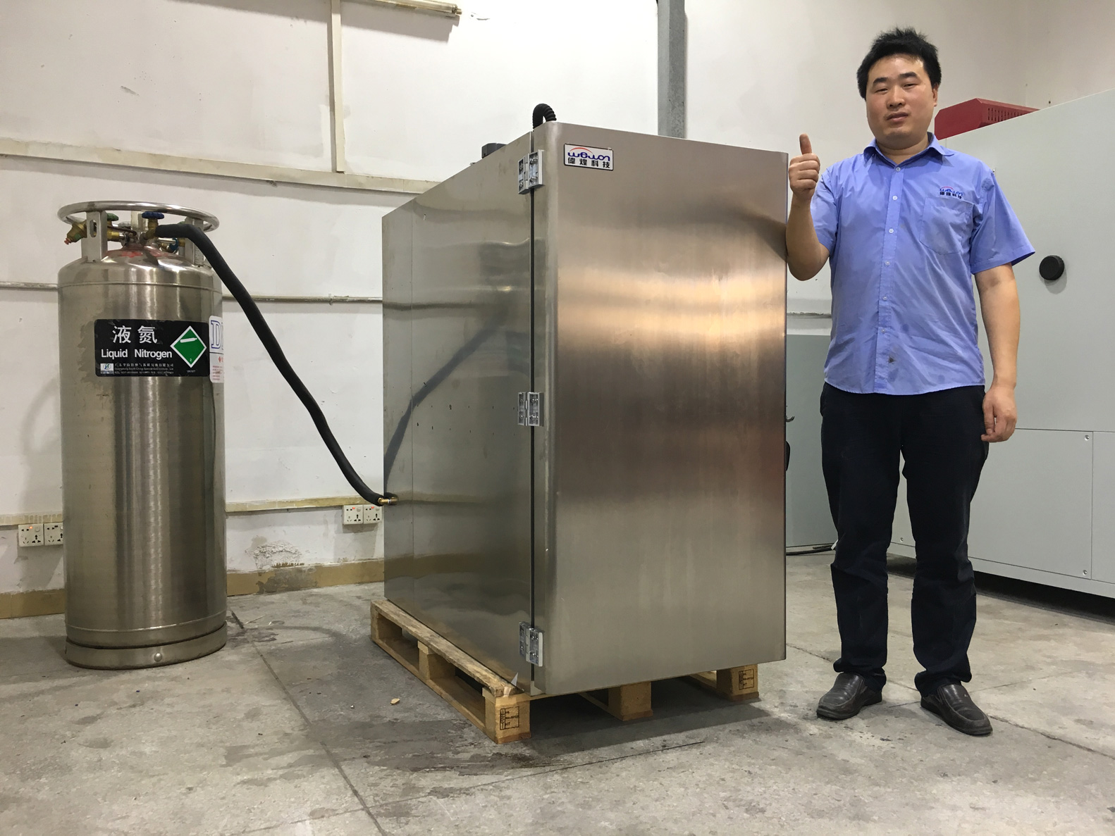 Liquid Nitrogen Cooling Environmental Chamber
