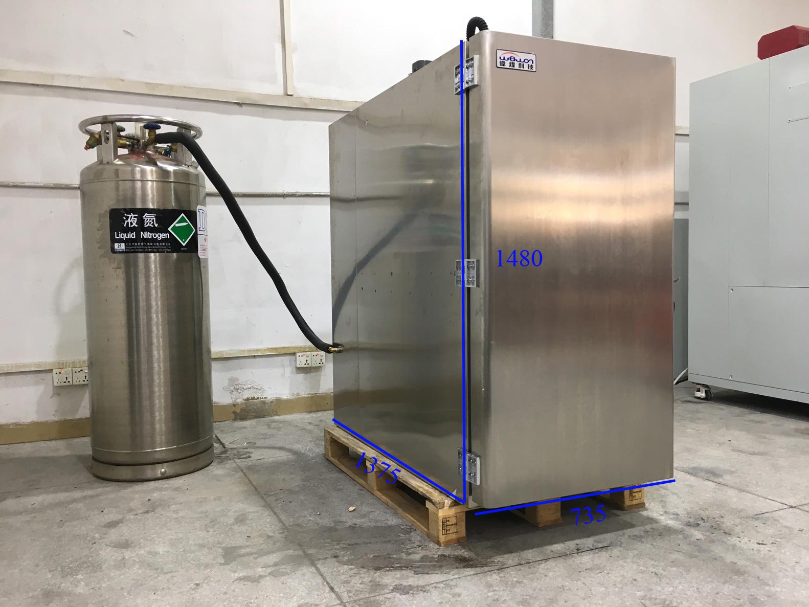 Liquid Nitrogen Cooling Chamber