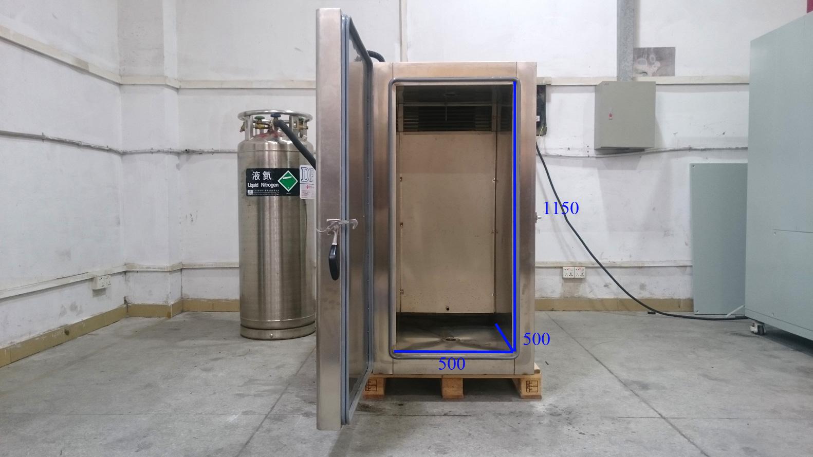 Liquid Nitrogen Cooled Temperature Test Chambers