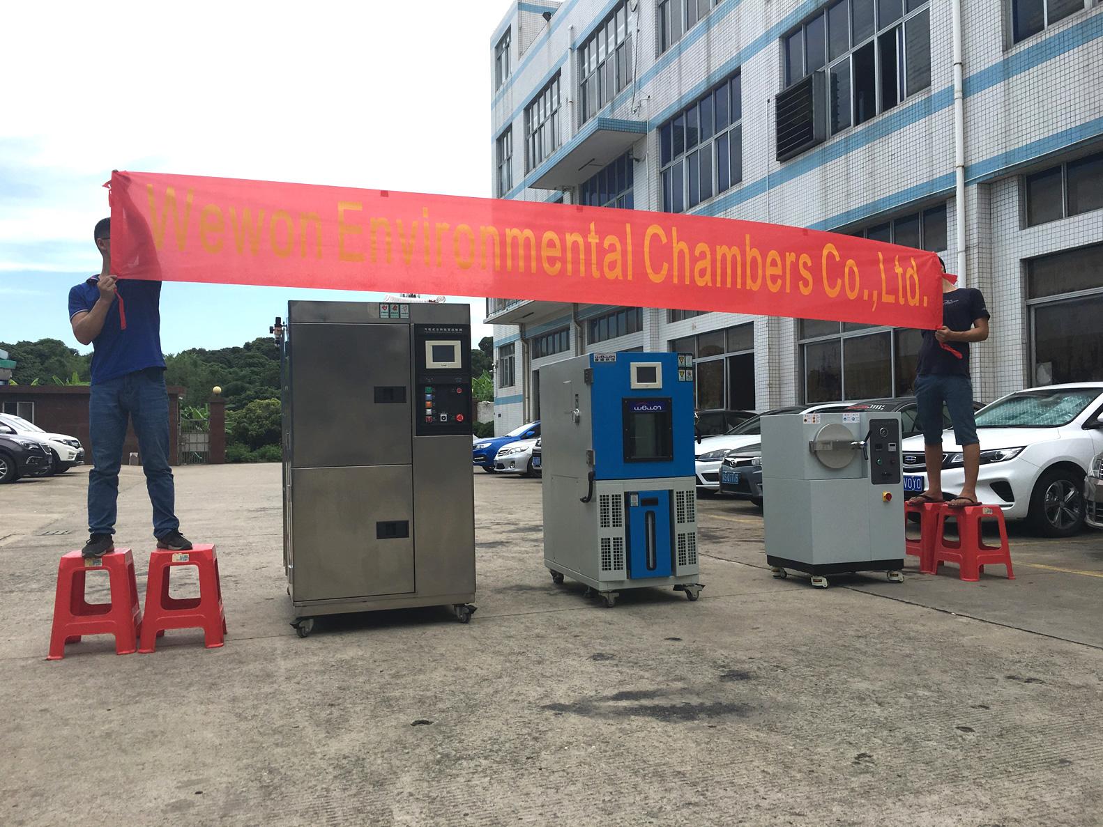 2018-07-30 Shipment | Thermal Shock Chamber | Enviornmental Chamber | Pressure Cooker Tester