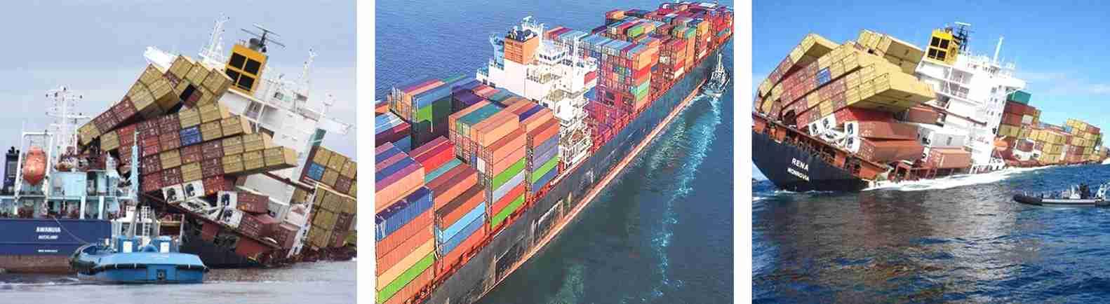 environmental chamber's damage during sea shipment