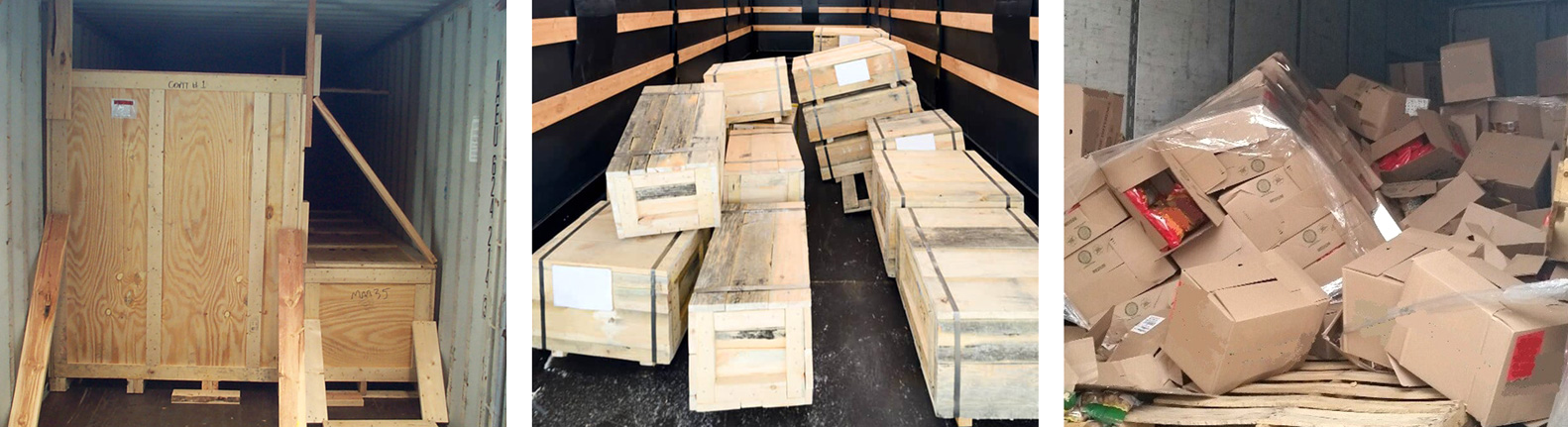 plywood case damage